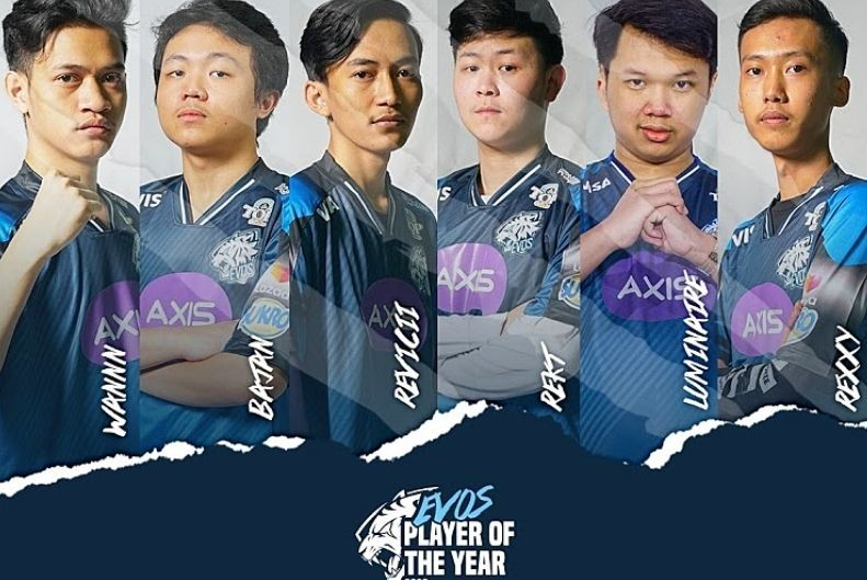 EVOS Esports Player of The Year 2020