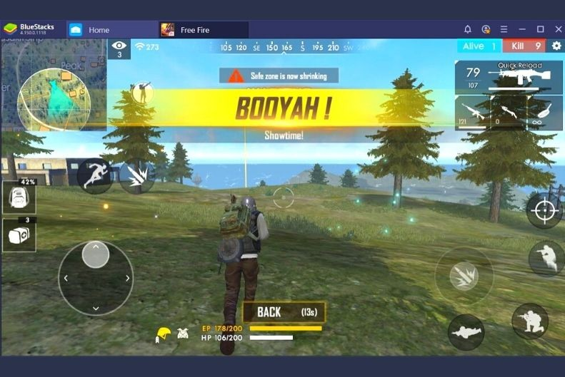 free fire emulator pc android bluestack