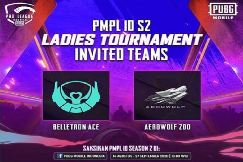 PUBG Mobile Pro League (PMPL) Season 2 Ladies Tournament Dimulai Hari Ini