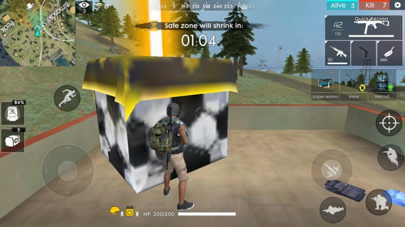 Supply drop Free Fire Gaming Vault
