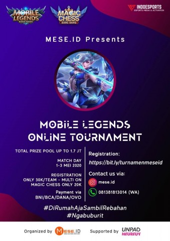 Mese Id Mobile Legends Online Tournament Indoesports